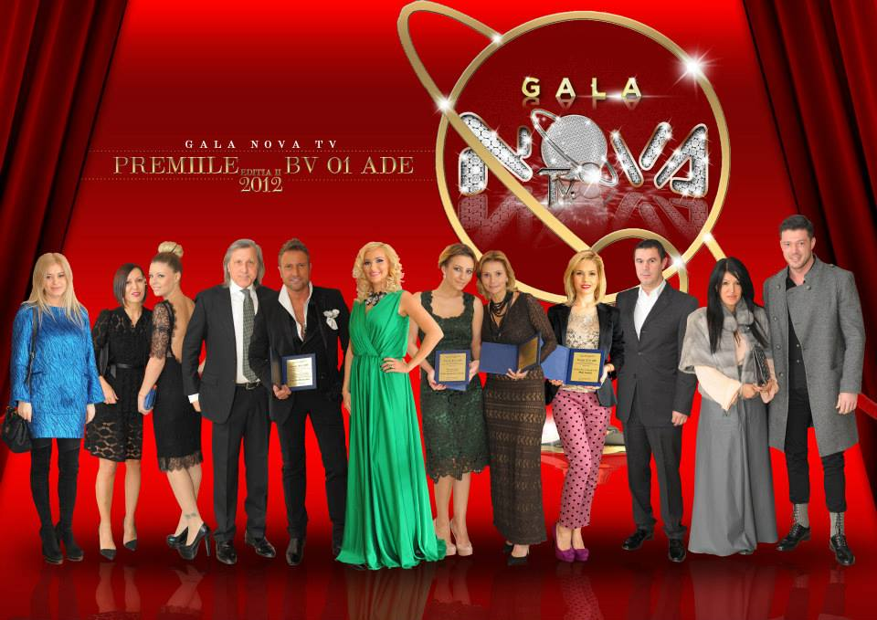 "Gala Nova Tv: Decernarea premiilor ""BV01ADE"""