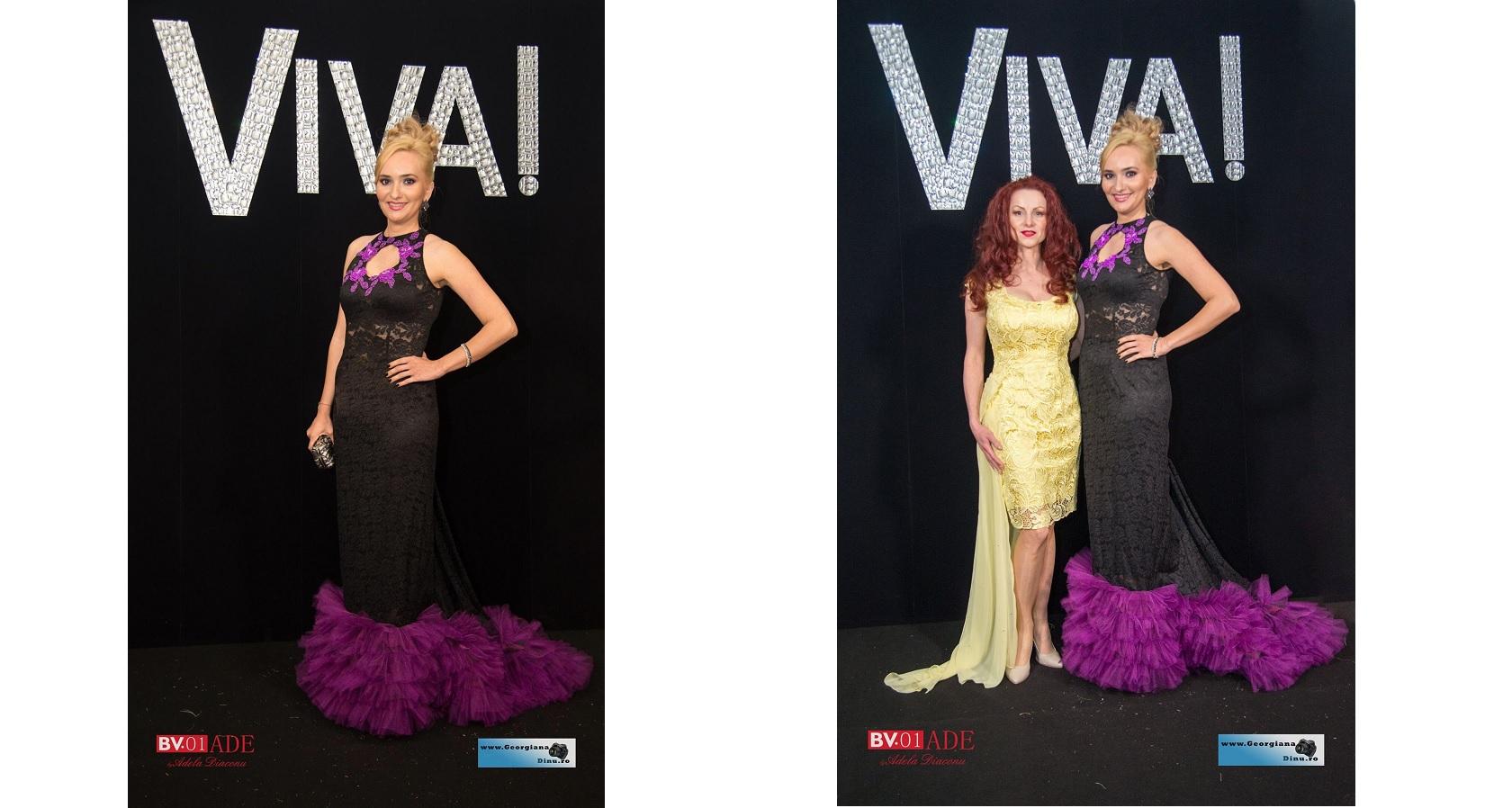 Andreea Banica, Adela Diaconu și Iulia Vantur, apariții de senzație la petrecerea Viva!