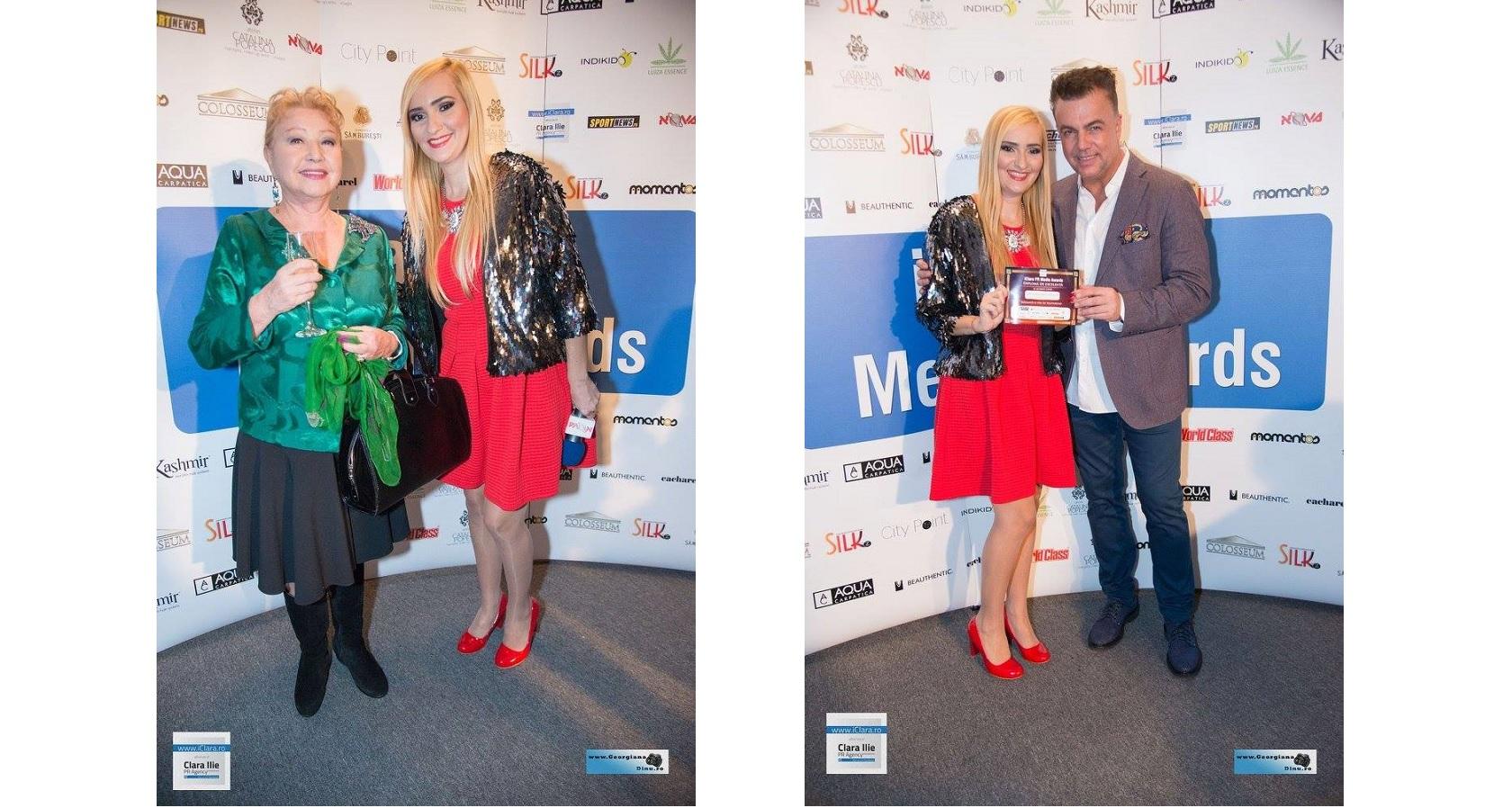 Premiul pentru eleganta si stil in televiziune: Adela Diaconu