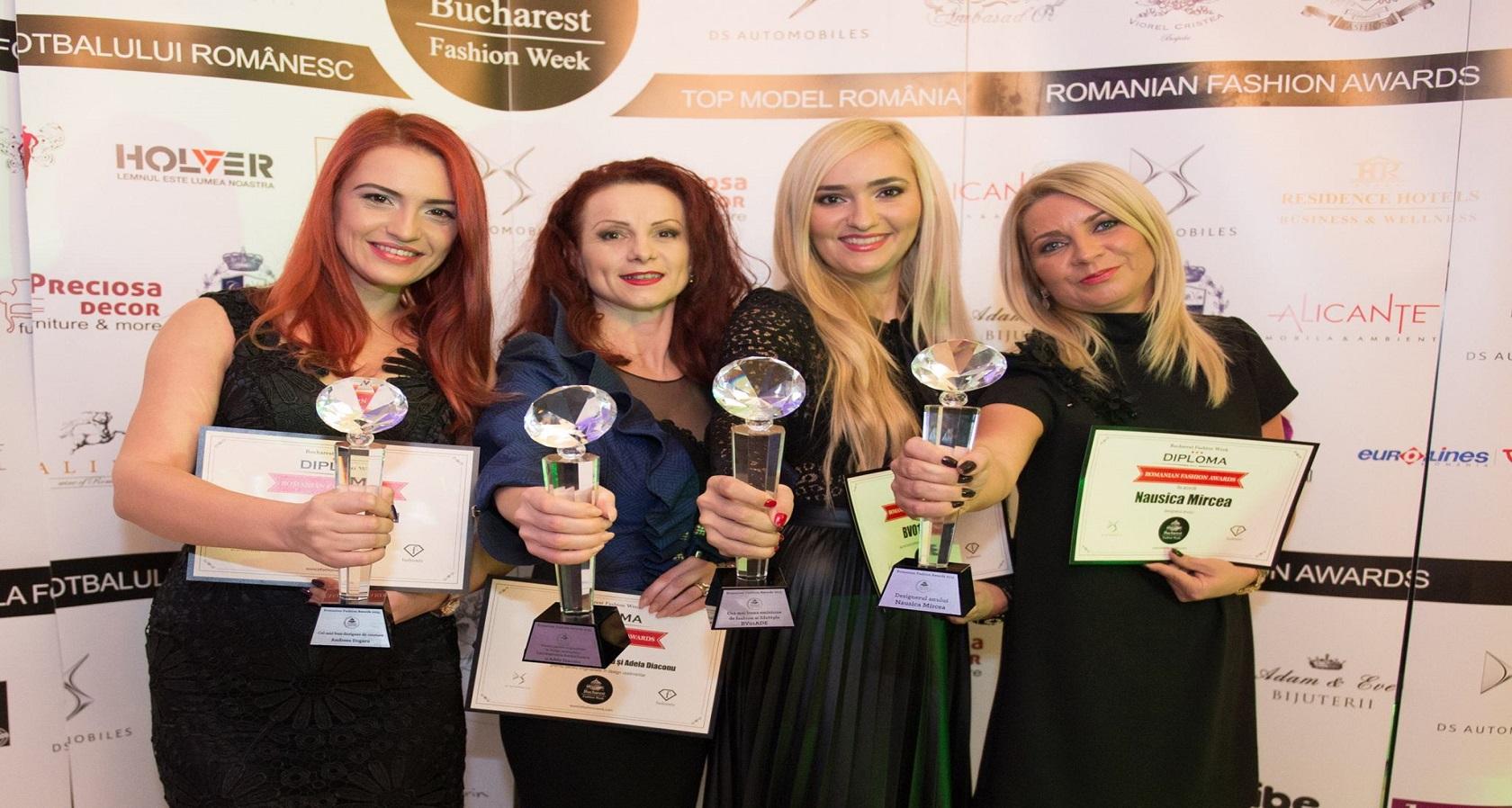 Adela Diaconu, doua premii la Romanian Fashion Awards