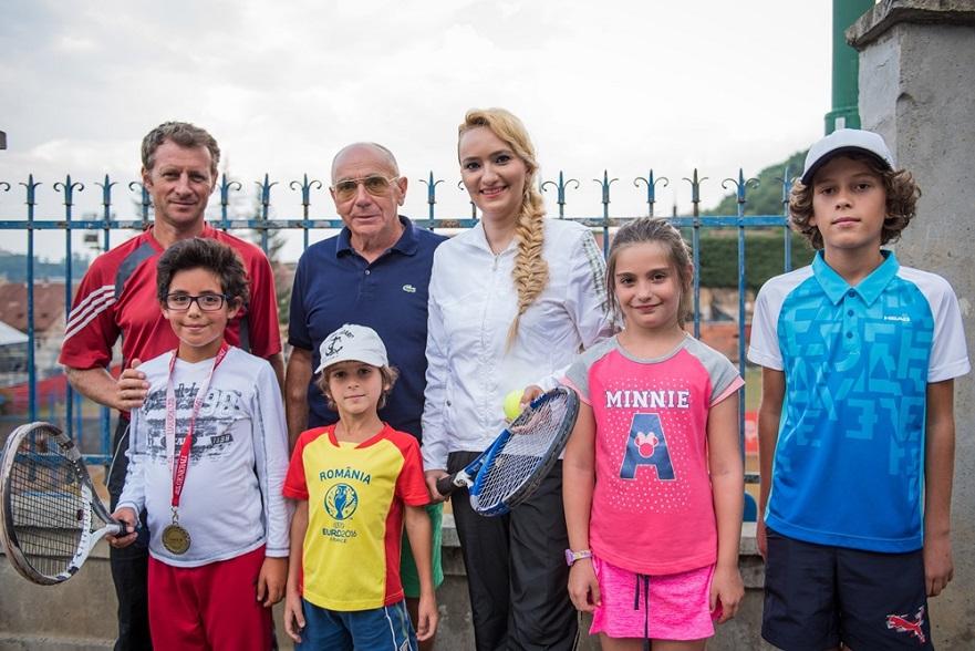 Adela Diaconu sustine sportul la Brasov