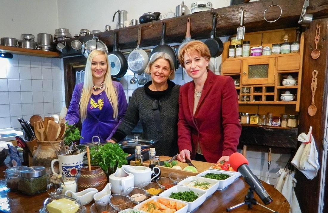 """Cooking Show Albif"", emisiunea culinara unde regasesti spiritul Transilvaniei medievale in bucate delicioase"