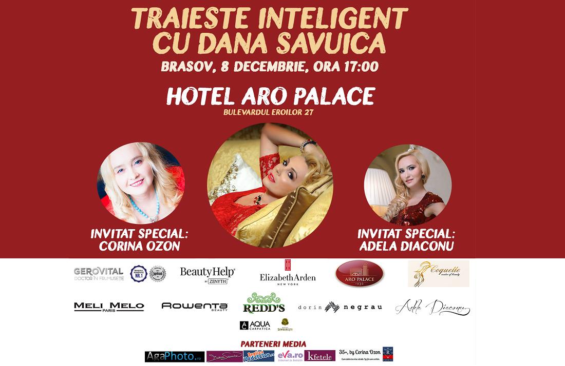 Dana Savuica si Adela Diaconu se intalnesc cu femeile inteligente din Brasov pe 8 Decembrie!