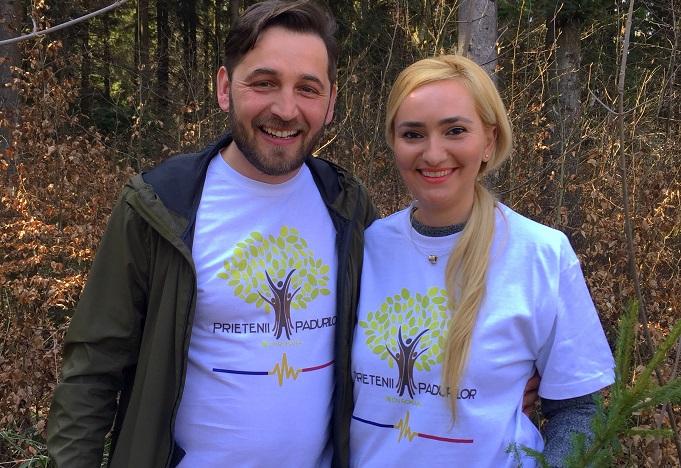 """Adela Diaconu s-a alăturat campaniei """"Plantează pentru România!"""" inițiată de silvicultori"""