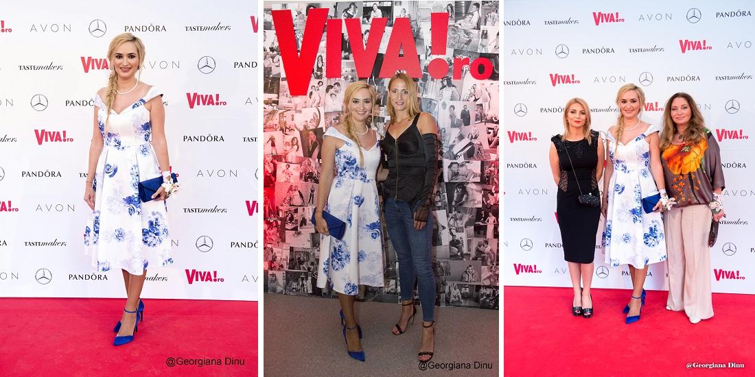 Andreea Marin, Andra , Adela Diaconu și Nausica, apariții de senzație la petrecerea Viva!