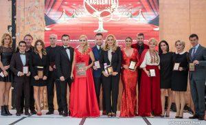 """Personalităţi premiate de Adela Diaconu la """"Gala Performanţei şi Excelentei 2017"""""""
