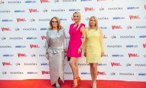 Nausica, Florina Mărcuță si Adela Diaconu, aparitii chic la petrecerea VIVA!