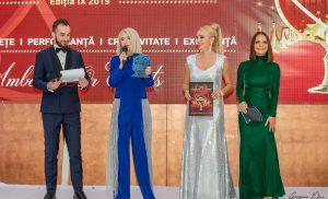 "Personalitati premiate de Adela Diaconu si Filip George la ""Gala Performantei si Excelentei 2019"""